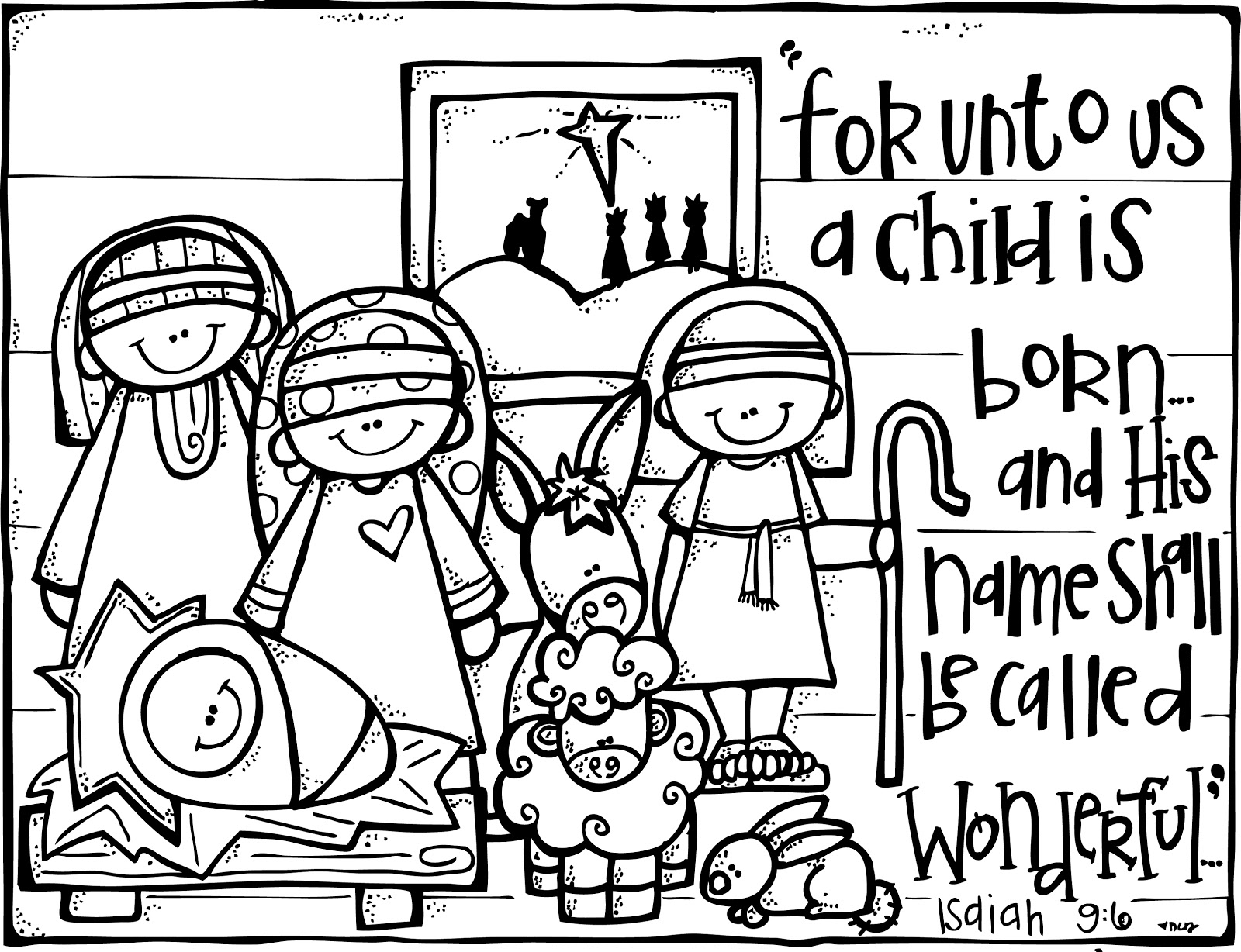 read and share bible coloring pages wonderful counselor out of the crab bucket